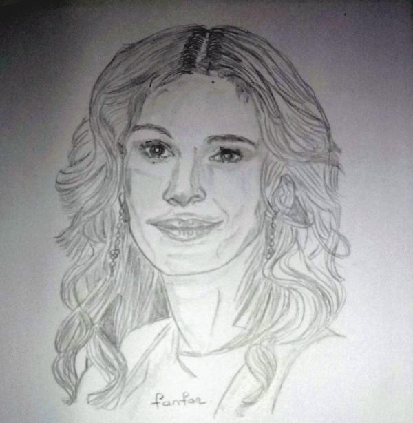 Julia Roberts by fanfan